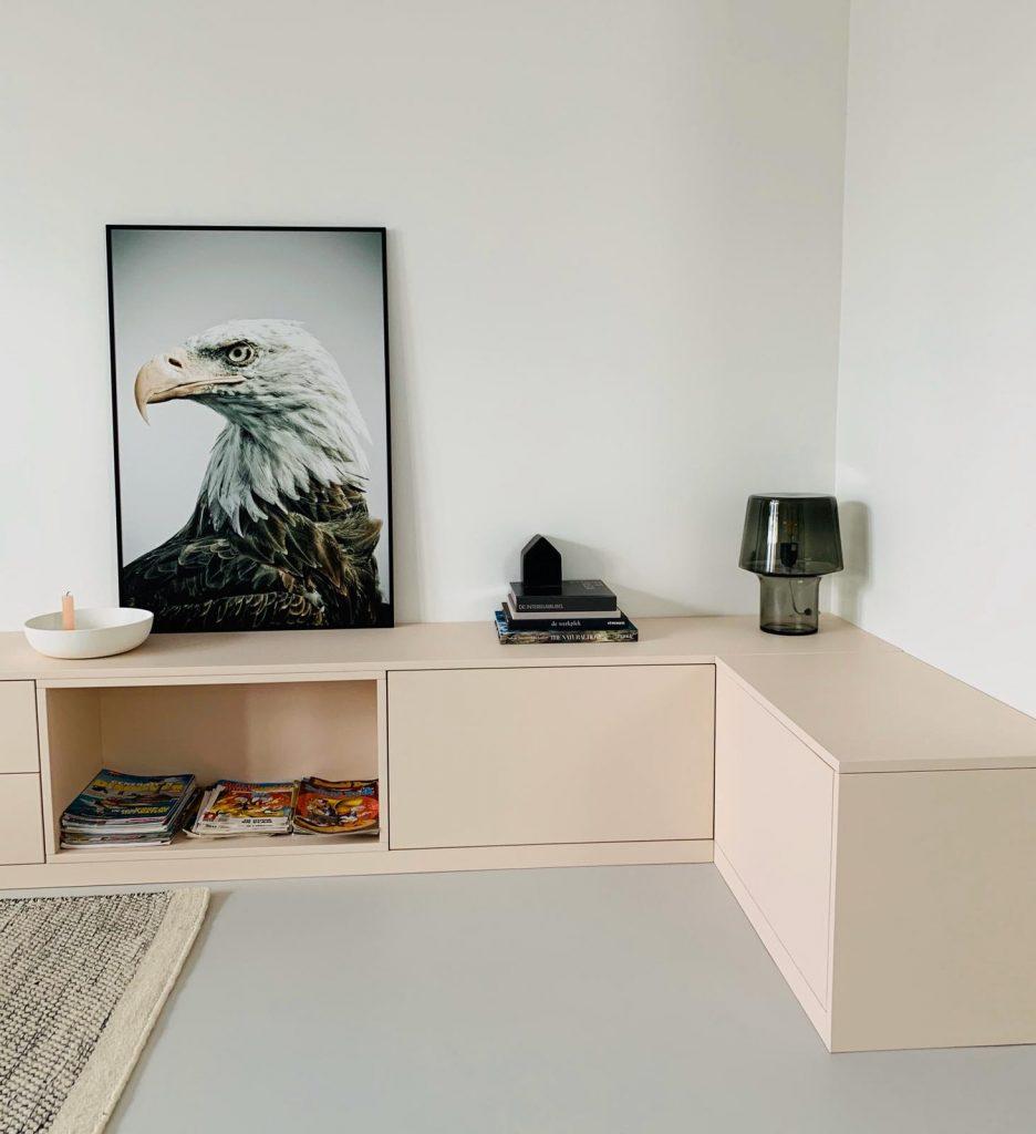 TV meubel spuitwerk