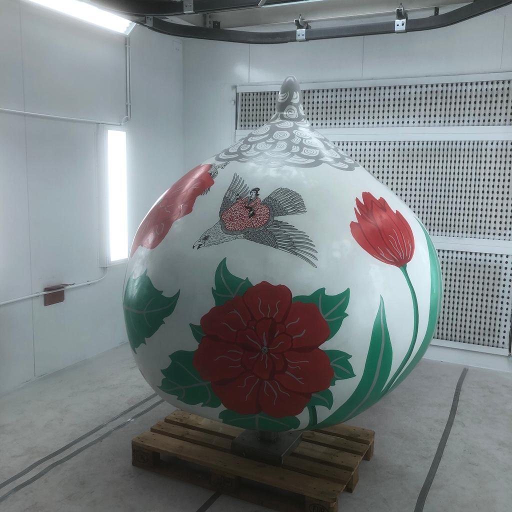 Tulpenbollen museum de zwarte tulp